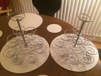 Two Cupcake Stands