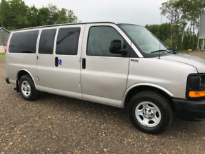 2006 Chevy Wheelchair Van