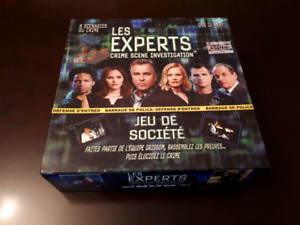 Jeux de table Les Experts
