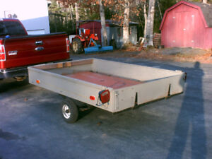 REDUCED  PRICE  5 FOOT BY 8 FOOT TRAILER