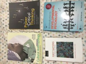 Selling 7 first year Psychology textbooks (Guelph-Humber)
