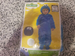 Cookie Monster - Halloween costume - Toddler 2+