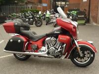 Indian Roadmaster Icon Mesa Red/Black Smoke 2018 Model