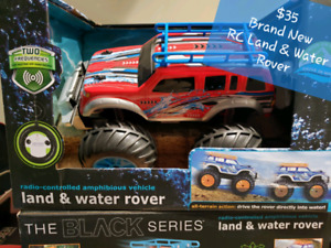 Brand New RC Land & Water Rover
