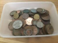 WANTED: Irish & British pre-decimal coins - fundraisers, schools, charities, businesses