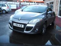 2011 Renault Megane 1.5dCi Dynamique Tom Tom Coupe **£20 Tax**