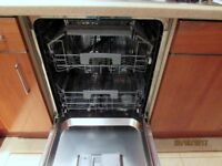 Candy C13530 fully intergrated dishwasher