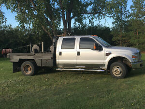 2008 Ford F-350 4x4 Farm Truck with Bale Deck