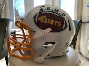 Riddel Football Helmet Size & Mask L Great Condition