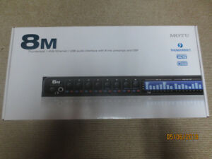 MOTU 8M Audio Interface