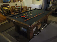 Dufferin Pool Table price reduced