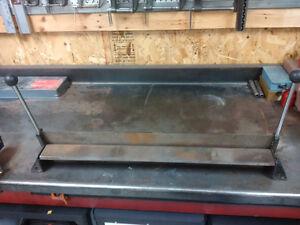 """30"""" Bench mount sheet metal brake"""