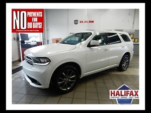 2017 Dodge DURANGO GT AWD!  LOADED LEATHER AND MOONROOF!!  7 PAS