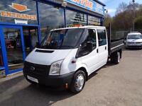 2013 FORD TRANSIT 100 T350 DOUBLE CAB TIPPER DRW * STILL UNDER MANUFACTURERS WAR