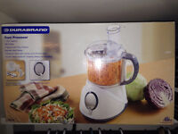 Never been used food processor