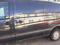 Mercedes Vito w639 sliding side door passenger viano