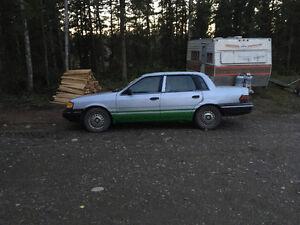 1990 Mercury Ford Topaz Sedan Prince George British Columbia image 1