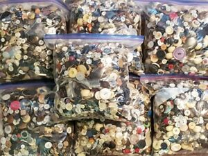 VINTAGE TO NOW SEWING BUTTONS 6 POUND BAGS $15