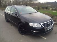 2008 Volkwagen Passat 2.0 Tdi 140 bhp 6 speed # 2 owners # fsh # cheap insurance