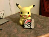 Pikachu Piggy Bank and Wallet