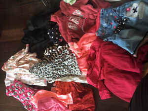 Girls clothing lot size 12-18 months