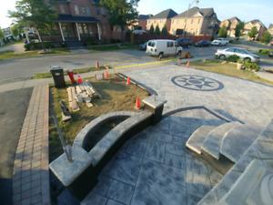 Concrete work. Free estimate.