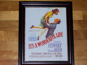 It's A Wonderful Life - Christmas Holiday Classic Framed Print!
