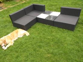 Garden sofa squares