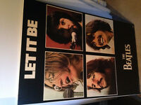 2 The Beatles Laminate picture $15 each firm