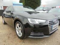 2016 16 AUDI A4 1.4 TFSI SPORT 4DR 150 BHP FINANCE WITH NO DEPOSIT AND NOTHING T