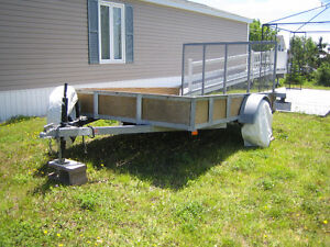 Galvanized Utility Trailer 6.5 ft X 10 ft