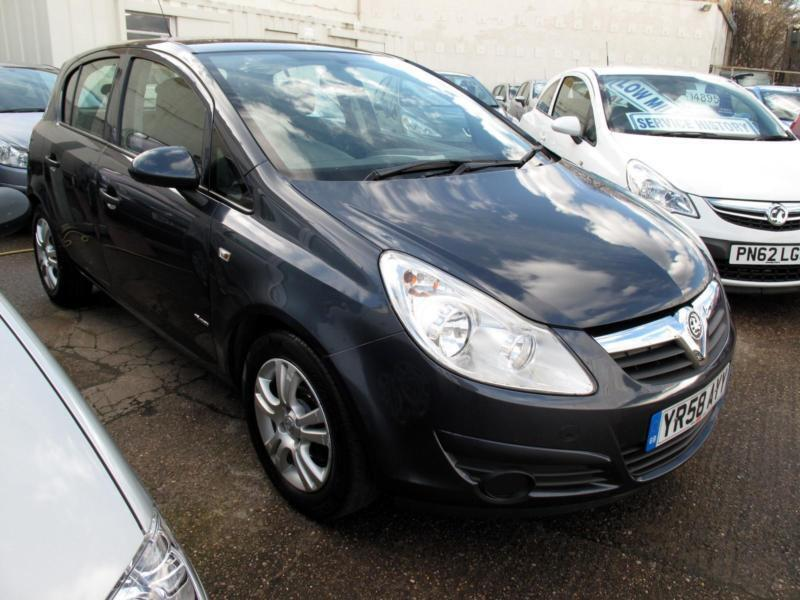 2008 58 vauxhall opel corsa 16v breeze 5 door 1 owner 5 stamps bills in sheffield south. Black Bedroom Furniture Sets. Home Design Ideas