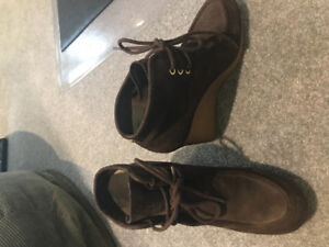 Michael Kors Rory Wedge ankle boots