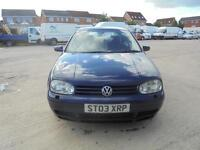 Volkswagen Golf 1.9TD GTi 150BHP 5 DOOR - 2003 03-REG - 11 MONTHS MOT