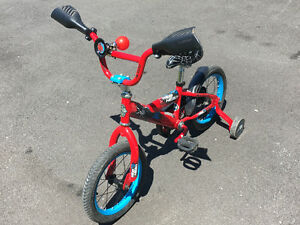 "14"" Web Head Boys Bike w/horn"