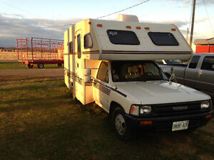 Economical Reliable Toyota  motorhome rv camper