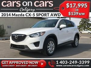2014 Mazda CX-5 SPORT AWD w/BlueTooth, USB Connect, Satellite Ra