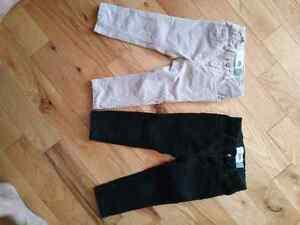2 pantalons de corduroy -Old Navy -2ans Gatineau Ottawa / Gatineau Area image 1