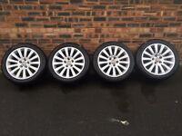 "18"" Vauxhall insignia alloy wheels"