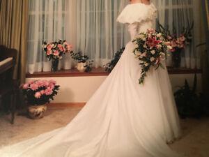Wedding dress. Size 6