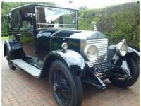 Rolls Royce 20hp 1928, classic vintage.