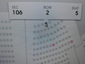 Kevin Hart 1st Row in Section UNDER COST!