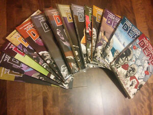 The Walking Dead volumes 1-14 FOR SALE (price negotiable) West Island Greater Montréal image 1
