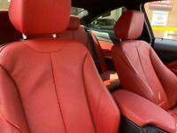 2014 63 BMW 4 SERIES 2.0 428I M SPORT 2D 242 BHP RED DAKOTA LEATHER BIG SCREEN N