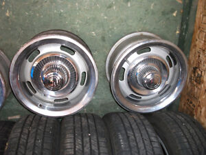 CLASSIC CHEVY RALLEY WHEELS