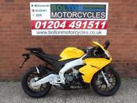 NEW PRE REGISTERED APRILIA RS4 125 MOTORCYCL;E