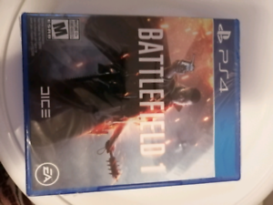 Battle field one BRAND NEW (PS4)