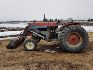 180 Massey Ferguson with Allied 450 loader