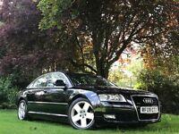 Audi A8 3.0TDI SE QUATTRO (LWB) (black) 2008
