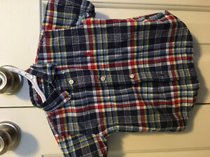 18 m Ralph Lauren button up